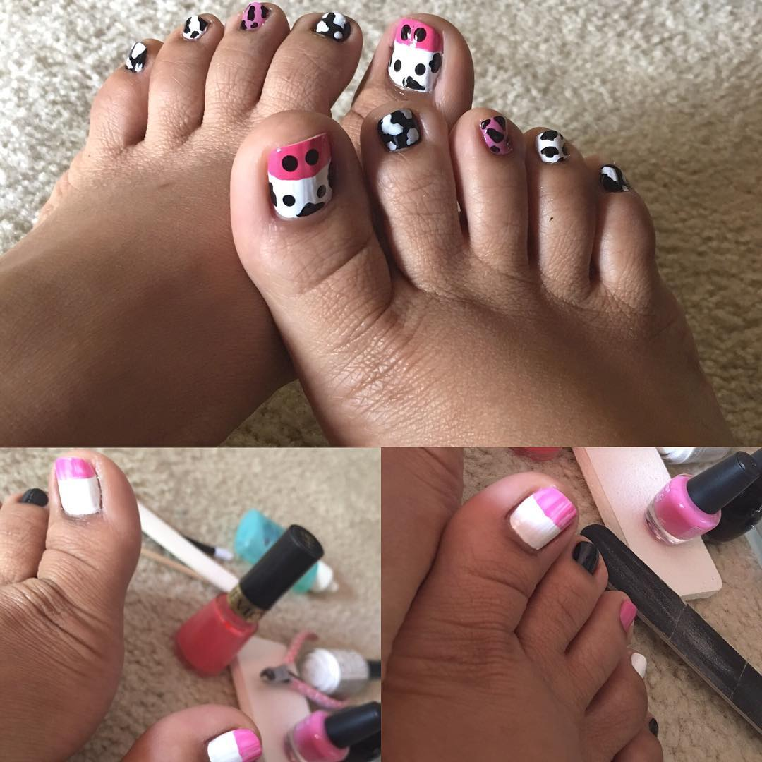 Foot Nail Design Tutorials