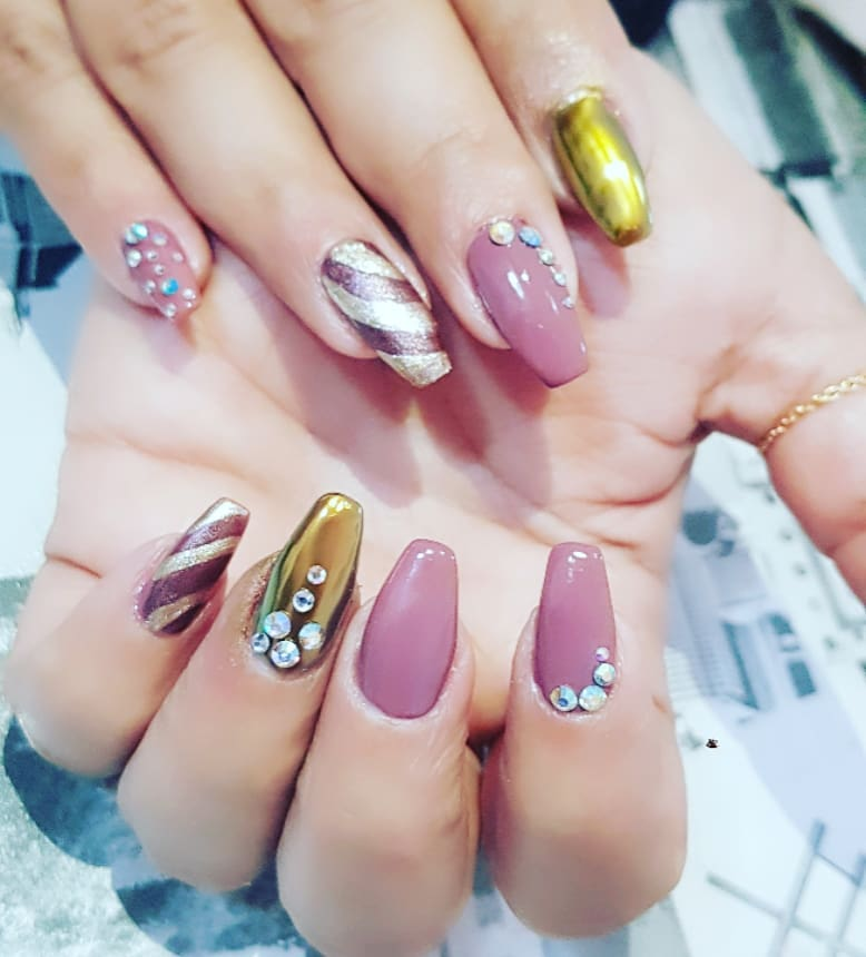 Unique Nail Art for Long Nails
