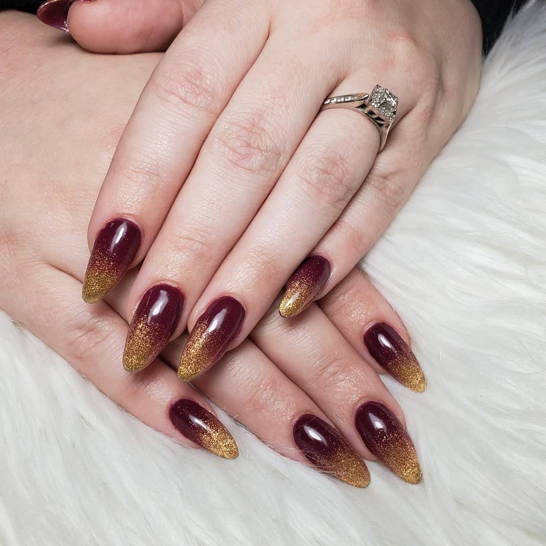 fall ombre nails (3)
