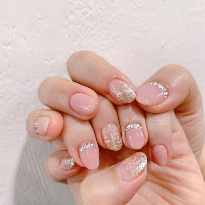 short wedding nails