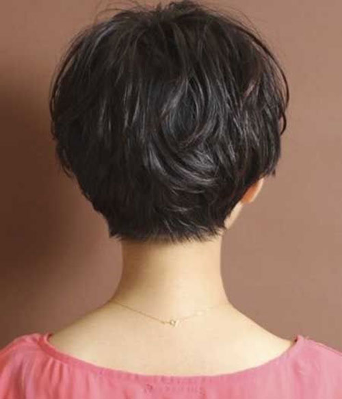 Short Haircuts for Women with Thick Hair-18