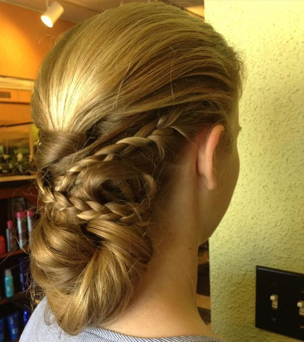 Elegant prom updos with braids 4