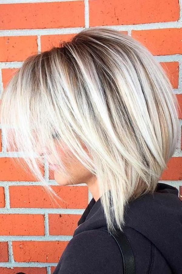 Long Stacked Bob Haircut 1