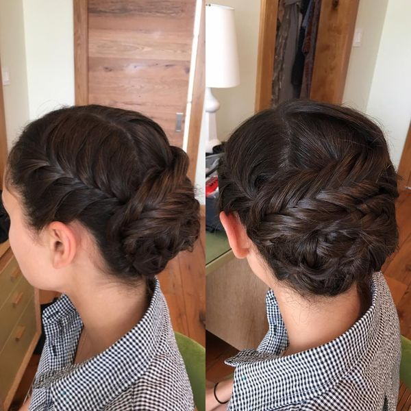 Trending Hairdos with Braids 2