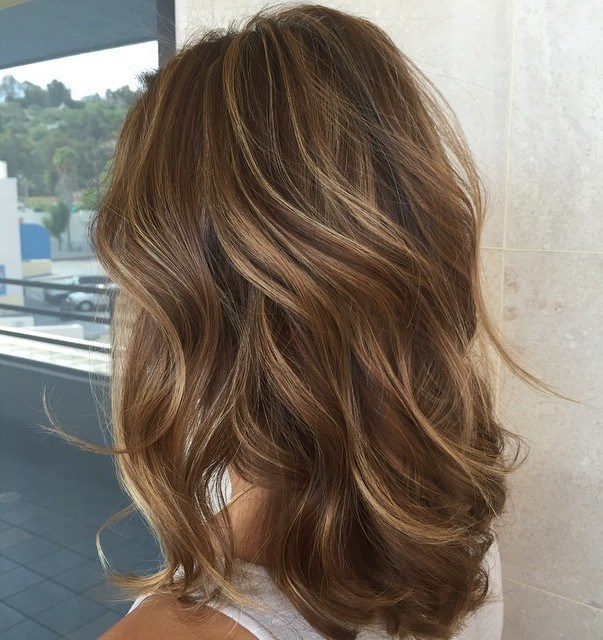 Subtle Blonde Highlights For Brown Hair 1