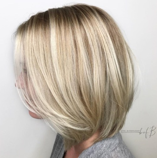 60 Beautiful and Convenient Medium Bob Hairstyles - ChecoPie