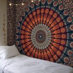 Fabric on the Wall: Step by step how to put
