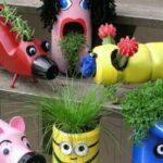 70 unusual examples for your summer Garden DIY decoration